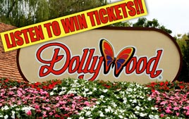 Win tickets to Dollywood!